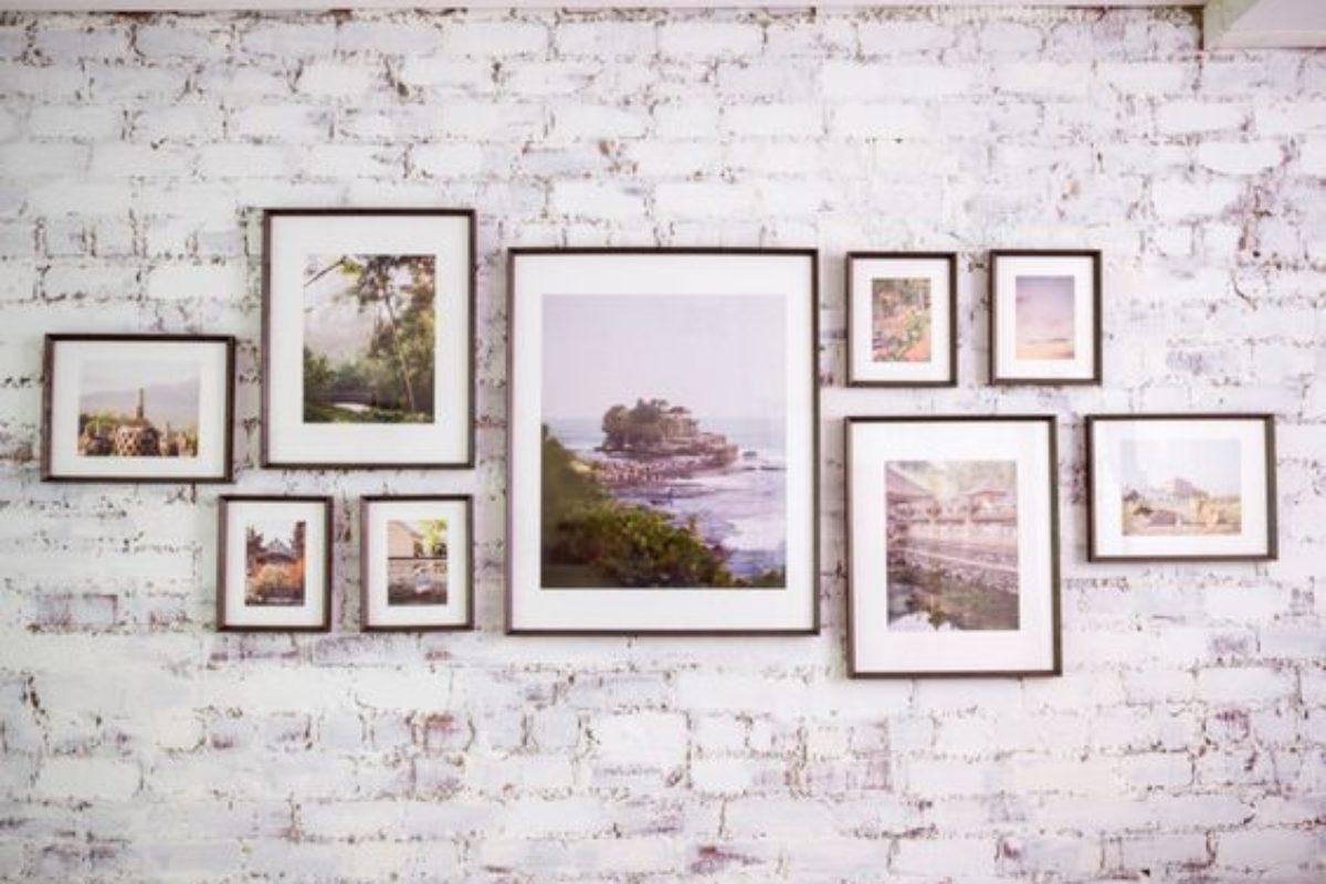 Hướng dẫn treo tranh ảnh lên tường sao cho nghệ thuật
