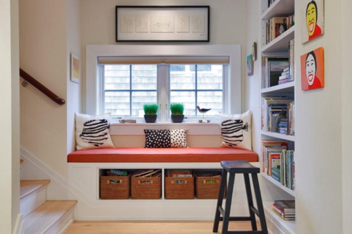 Những ý tưởng hay để tận dụng chiếu nghỉ cầu thang trong nhà bạn