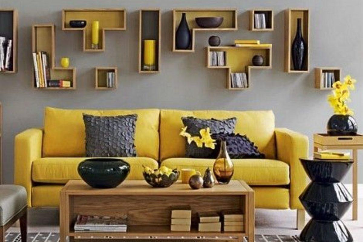 Thiết kế nội thất độc lạ với tông màu vàng chanh