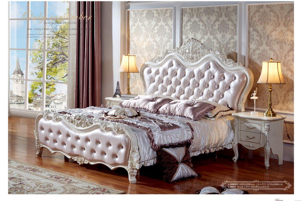 Giường ngủ tân cổ điển – Luồng gió mới trong không gian nội thất