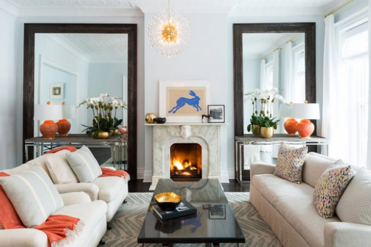 Đánh lừa thị giác với những mẹo thiết kế nội thất cho không gian phòng khách 20m2