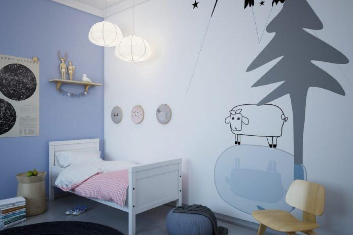 Thiết kế nội thất phòng ngủ cho bé đầy dễ thương và cá tính