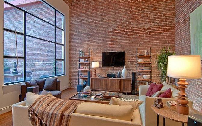 Phối hợp hài hòa với mọi phong cách đồ nội thất làm một trong những ưu điểm lớn của gạch nung trang trí