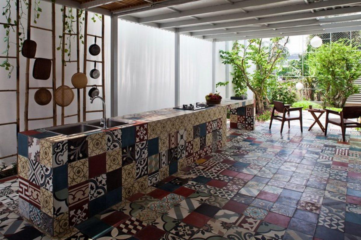 Gạch bông cổ điển – điểm nhấn phong cách châu Âu cho tổ ấm