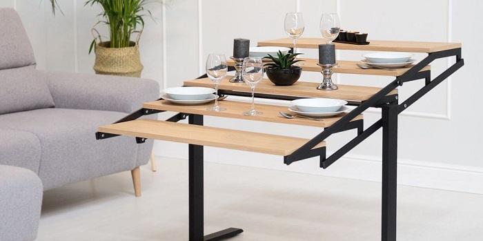 Phân loại bàn gỗ xếp thông minh chi tiết nhất