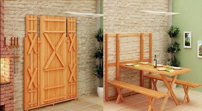 5 mẫu bàn ăn gấp tường đẹp đang chờ bạn khám phá-2