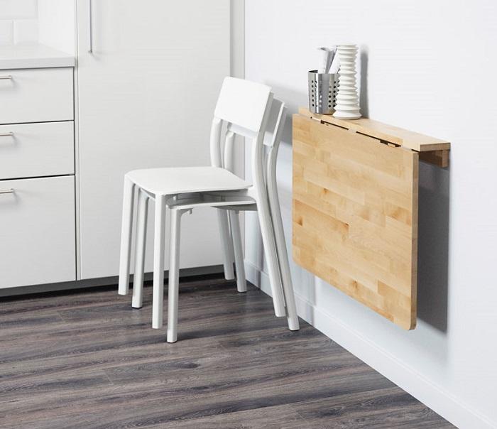 5 mẫu bàn ăn gấp tường đẹp đang chờ bạn khám phá-3