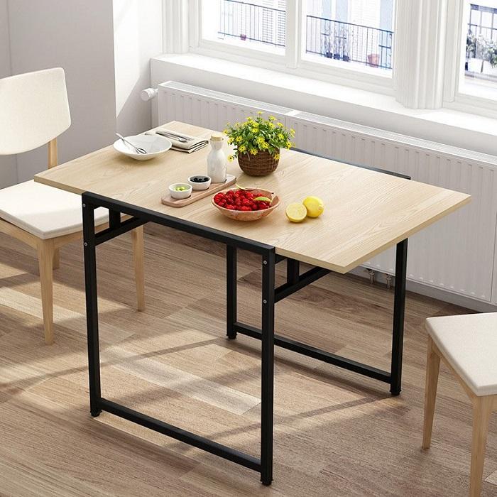 5 mẫu bàn ăn gỗ gấp gọn có thiết kế lạ mắt-3