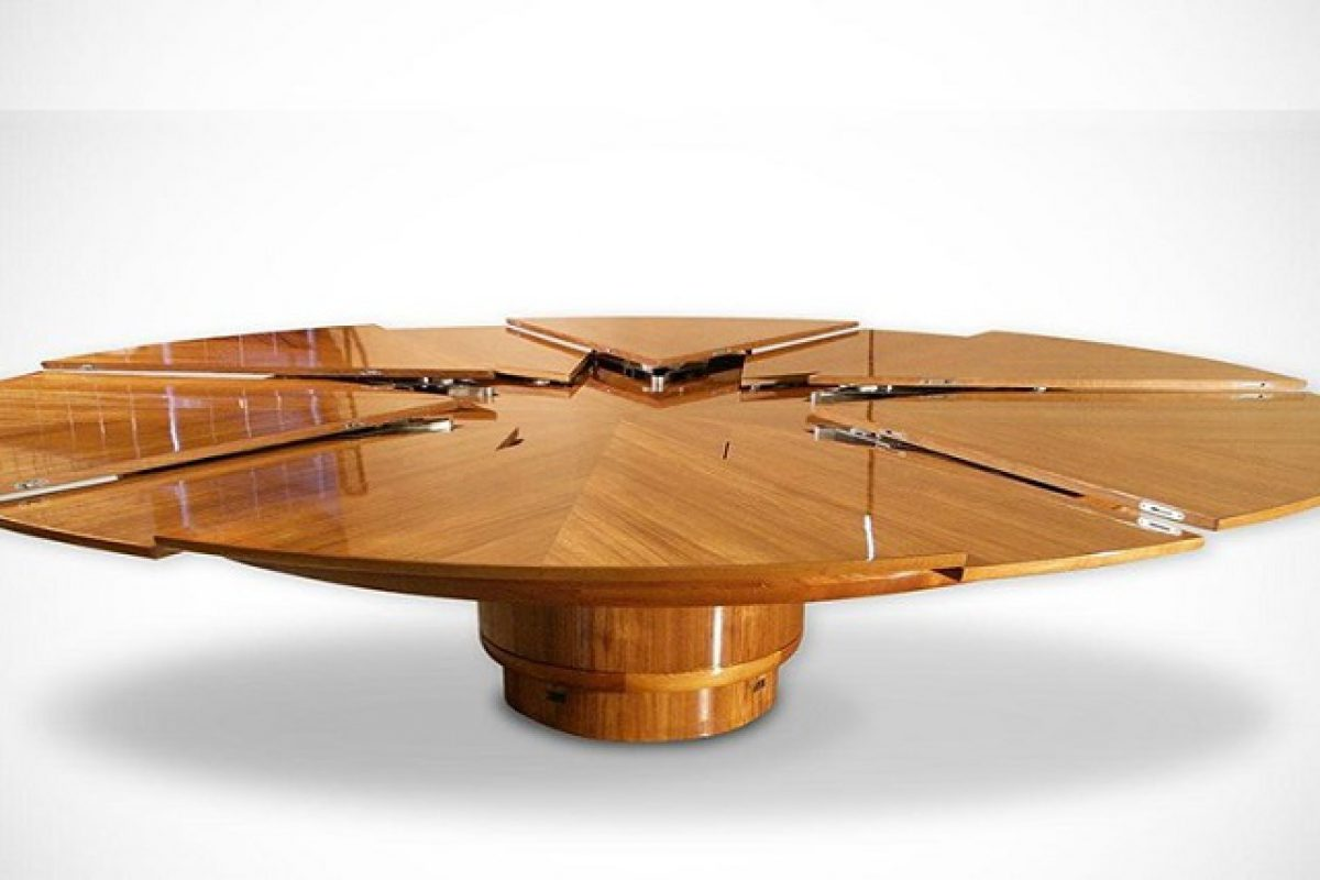 6 mẫu bàn ăn xoay thông minh đáng sở hữu nhất