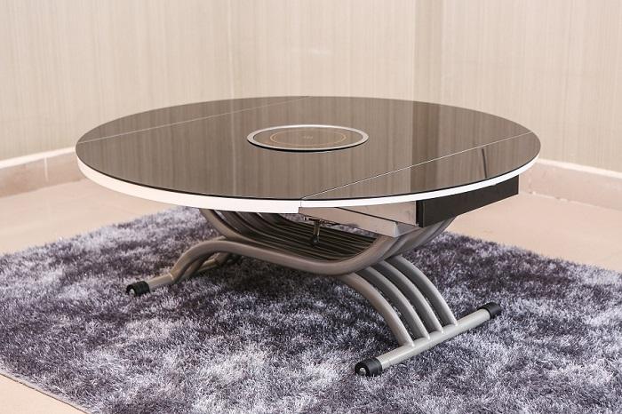 6 thiết kế bàn ăn thông minh gắn bếp từ bán chạy nhất-2