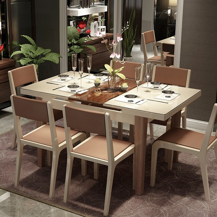 6 thiết kế bàn ăn thông minh gắn bếp từ bán chạy nhất-4