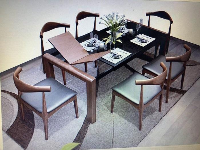 6 thiết kế bàn ăn thông minh gắn bếp từ bán chạy nhất-5