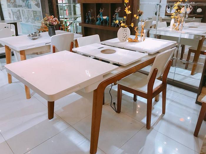 6 thiết kế bàn ăn thông minh gắn bếp từ bán chạy nhất-6