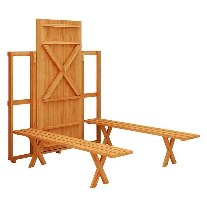 7 bộ bàn ghế xếp gọn đẹp hút mắt-6
