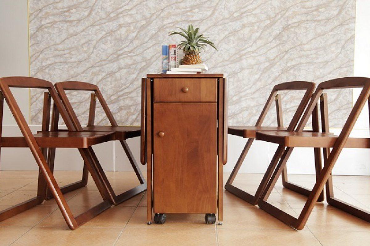 7 bộ bàn ghế xếp gọn đẹp hút mắt