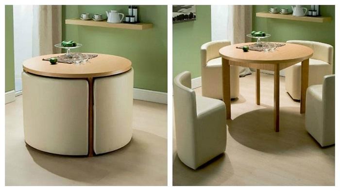 7 mẫu bàn ăn xếp gọn 4 ghế đẹp như mơ-3