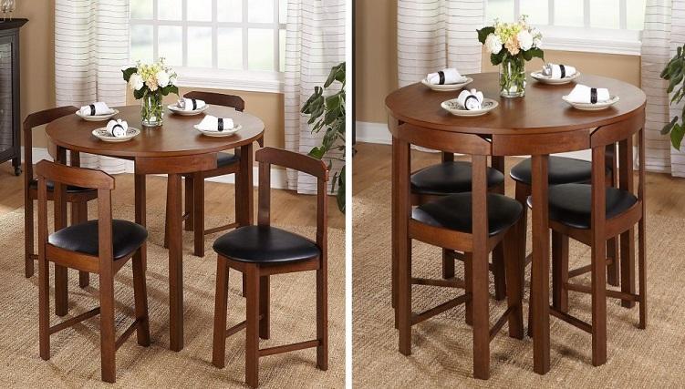 Chiêm ngưỡng 8 mẫu bàn ghế xếp thông minh cho nhà chật