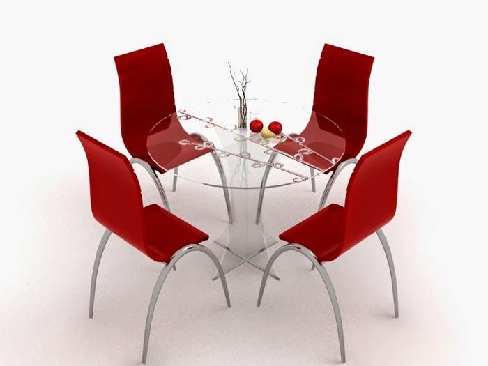 Kinh nghiệm mua bàn ghế ăn cho không gian nhà nhỏ-1