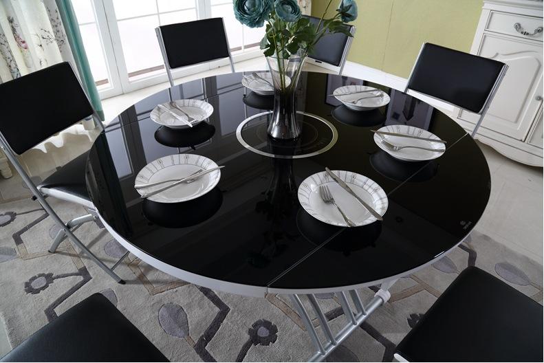 Những bàn ăn thông minh mặt kính thông dụng nhất
