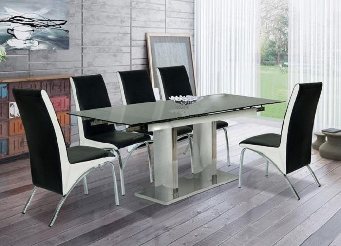 Những bộ bàn ăn thông minh 6 ghế đẹp khó cưỡng