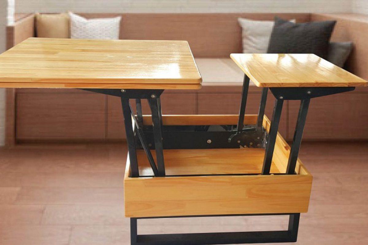 Những bộ bàn ăn thông minh nâng hạ hút khách nhất