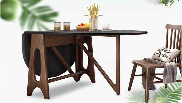 Những mẫu bàn ăn tròn thông minh có thiết kế nhỏ gọn, siêu đẹp mắt