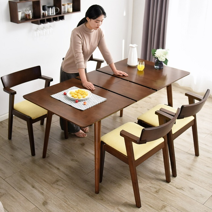 Top 6 bộ bàn ăn thông minh 4 ghế đẹp hiện đại-5