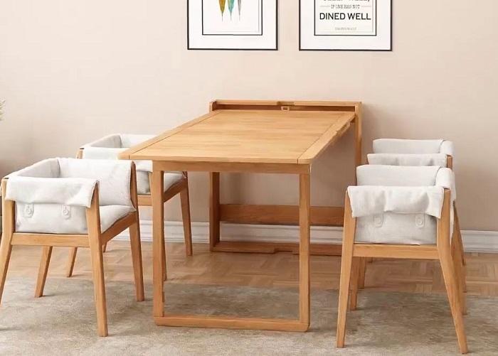 Top 6 bộ bàn ăn thông minh 4 ghế đẹp hiện đại-6