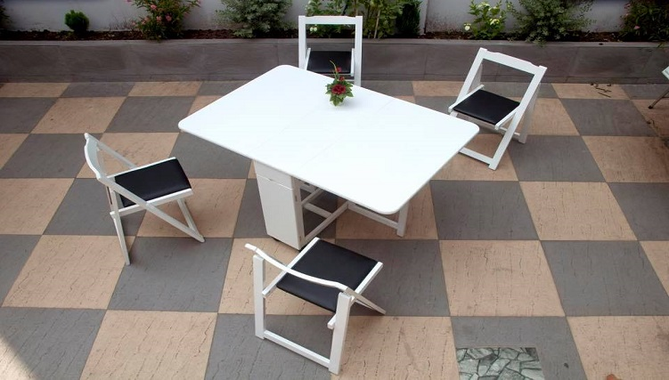 Top 6 bộ bàn ăn thông minh 4 ghế đẹp hiện đại-7