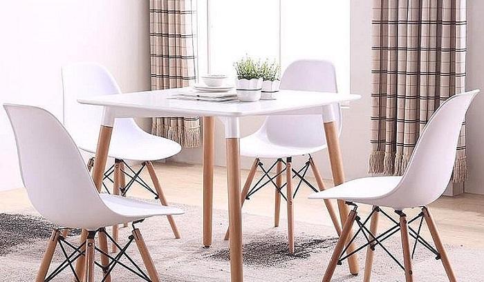 Bàn ghế ăn hiện đại mang tới sự tươi mới cho phòng bếp-2