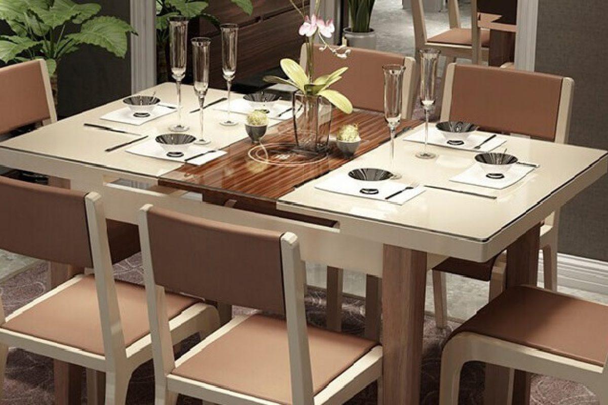 Mẫu bàn ăn thông minh mang đến sự tiện nghi cho căn bếp