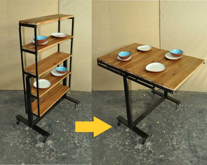 Mẫu bàn ăn thông minh mang đến sự tiện nghi cho căn bếp-3