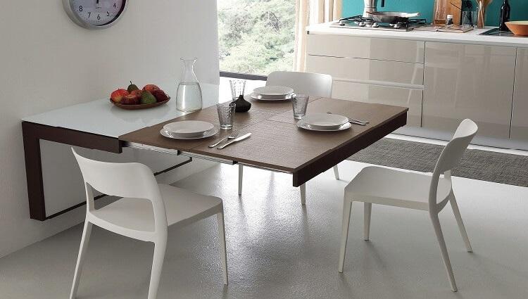 Những bộ bàn ăn thông minh giúp tiết kiệm diện tích