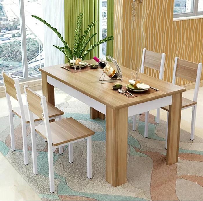 Các mẫu bàn ăn đẹp hiện đại phù hợp với căn hộ chung cư-1