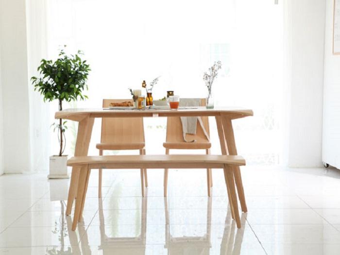 Các mẫu bàn ăn đẹp hiện đại phù hợp với căn hộ chung cư-2