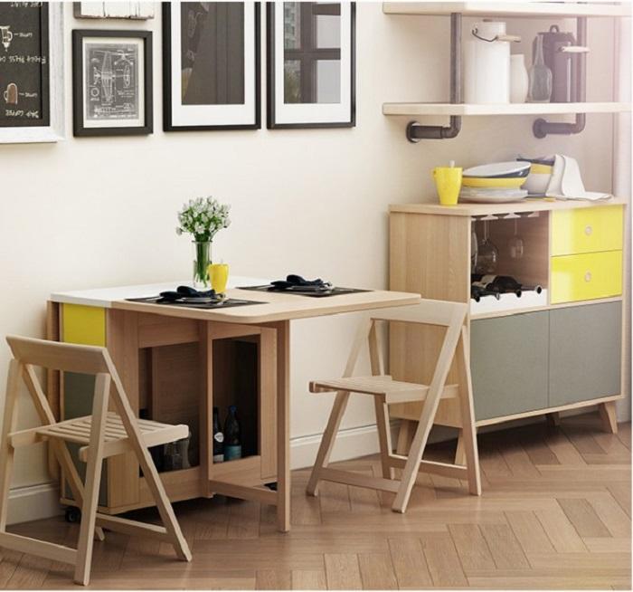 Các mẫu bàn ăn đẹp hiện đại phù hợp với căn hộ chung cư-4