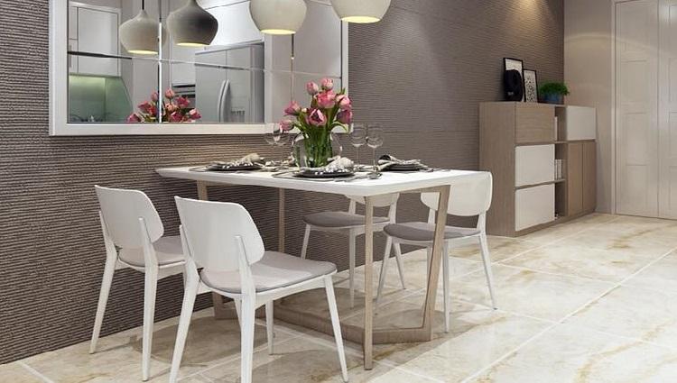 Các mẫu bàn ăn đẹp hiện đại phù hợp với căn hộ chung cư