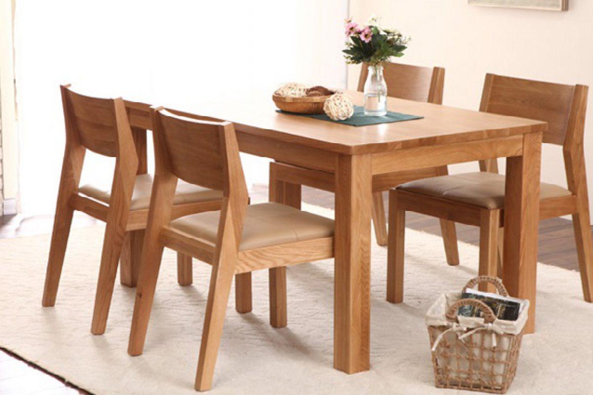 Tiêu chí đánh giá bàn ghế ăn đẹp dành cho phòng bếp