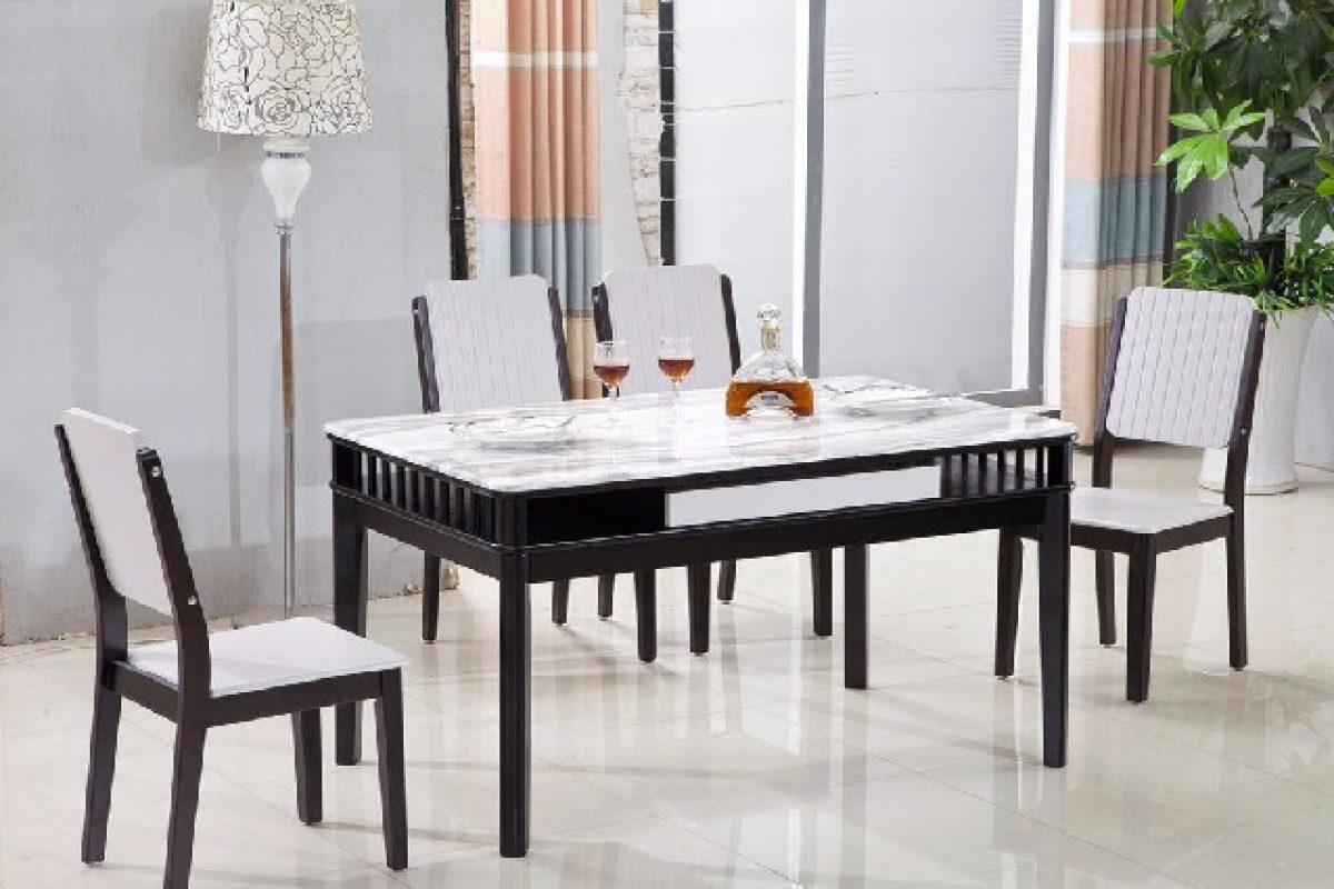 Ưu điểm nổi bật của bàn ăn đá cẩm thạch