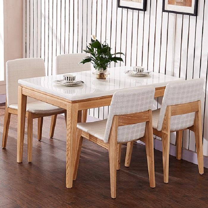 Kích thước bàn ăn 4 người tiêu chuẩn là bao nhiêu?-1