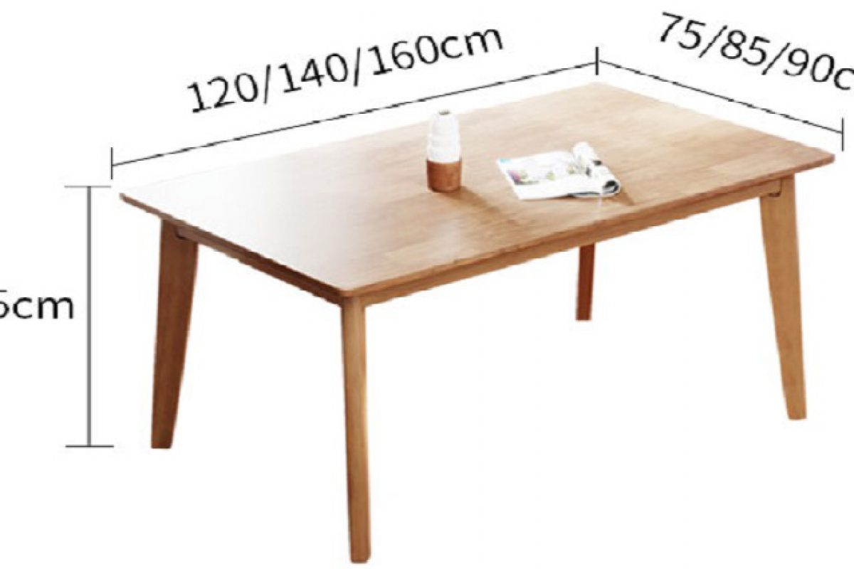 Kích thước bàn ăn 4 người tiêu chuẩn là bao nhiêu?