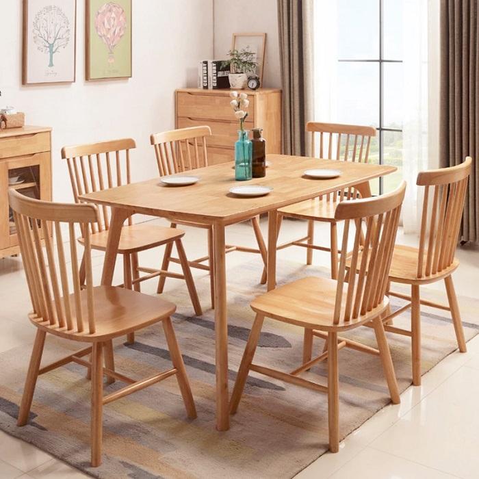 Lựa chọn bộ bàn ăn 6 ghế giá rẻ cho không gian phòng bếp-1