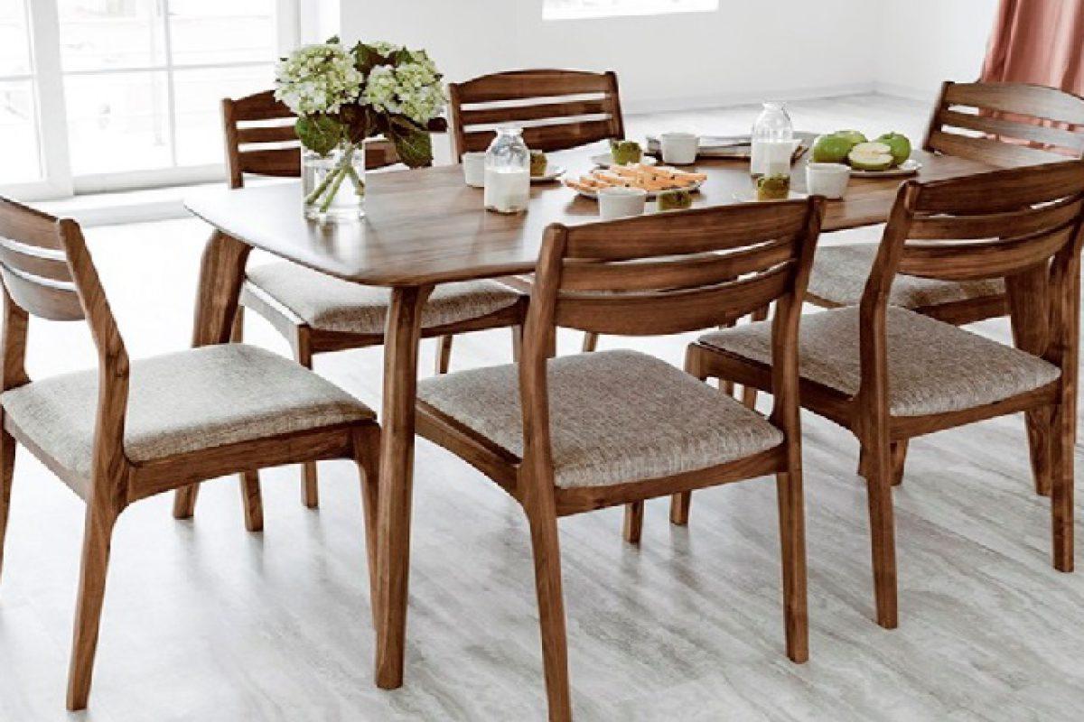 Lựa chọn bộ bàn ăn 6 ghế giá rẻ cho không gian phòng bếp