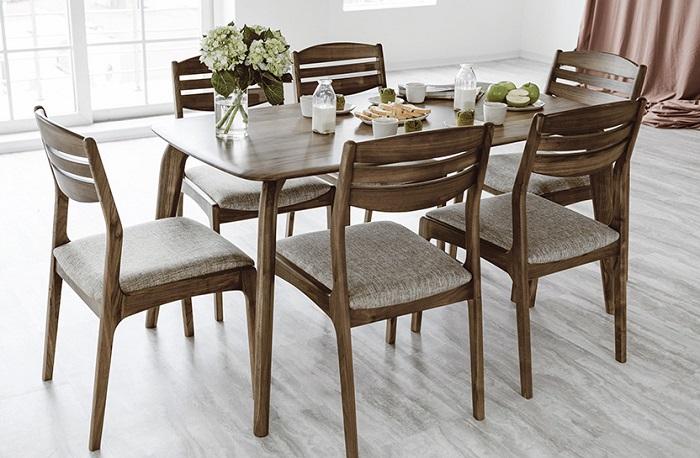 Mẫu bàn ghế ăn gỗ tự nhiên đẹp dành cho không gian hiện đại-3