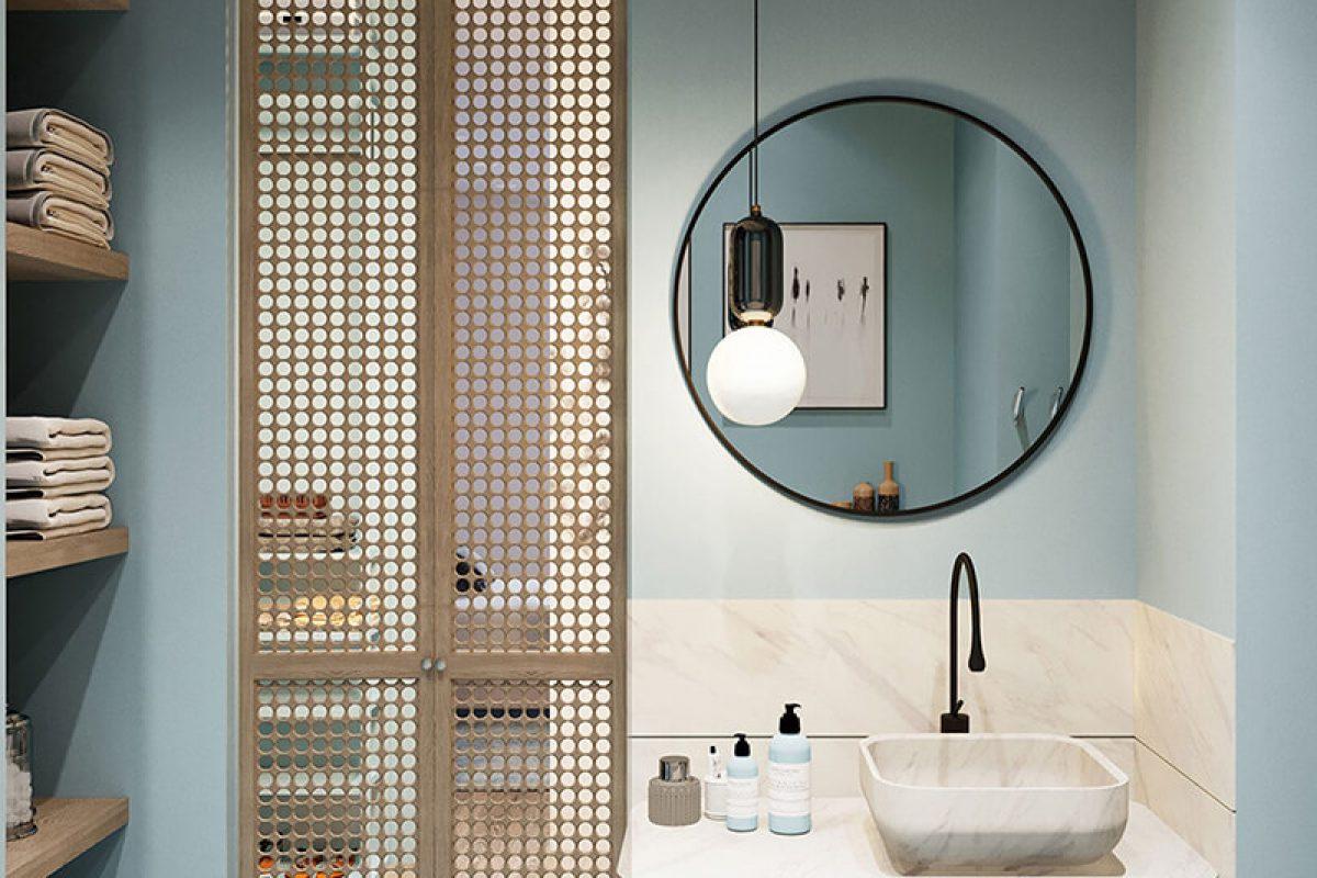 Chuyên gia phong thủy mách bạn cách bố trí gương phòng tắm