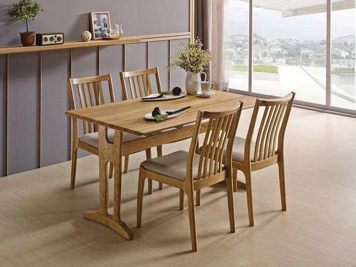 Những bộ bàn ăn gia đình đơn giản mà đẹp-2