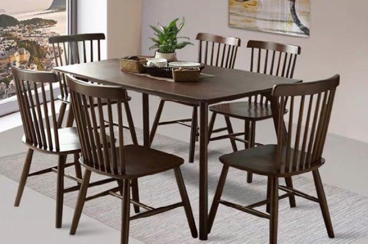 Những bộ bàn ăn gia đình đơn giản mà đẹp