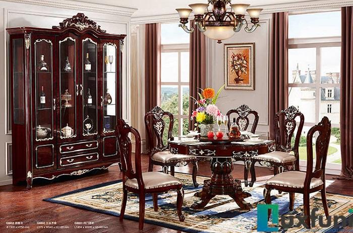 Tư vấn cách lựa chọn bàn ăn đẹp 6 ghế đơn giản-10
