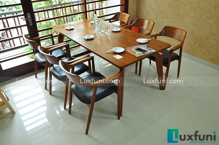 Tư vấn cách lựa chọn bàn ăn đẹp 6 ghế đơn giản-12