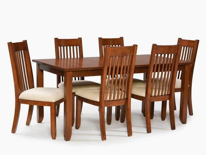 Tư vấn cách lựa chọn bàn ăn đẹp 6 ghế đơn giản-13